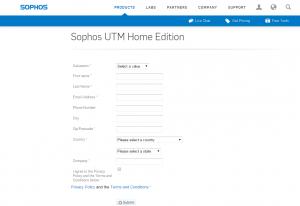 Sophos UTM Home Addition Sample