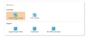 Sophos UTM - Creating a new license