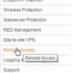 Sophos UTM Home Edition 5 – SSL VPN