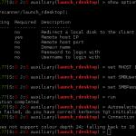 Launch rdesktop from Metasploit