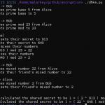 Encryption Basics: DHKE