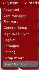 add vpn user
