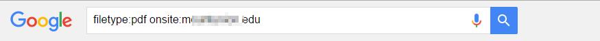 Dork Search