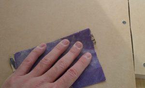 Figure 06: First Sanding